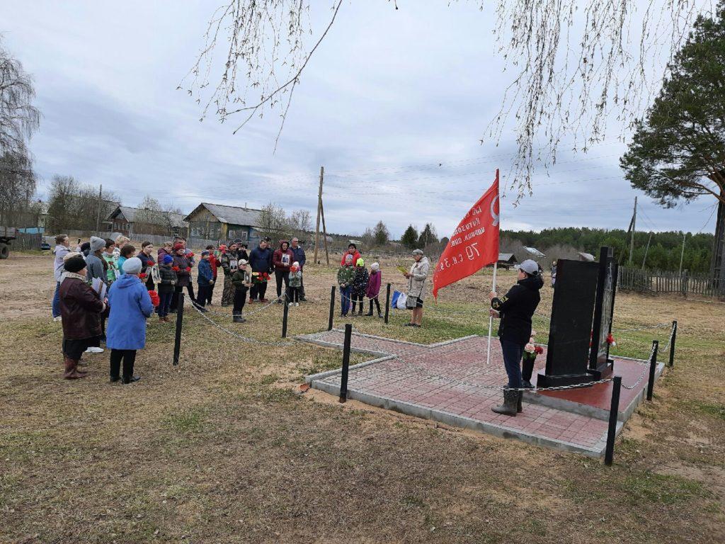 Хором спели «День Победы» в Верхней Кице Виноградовского района