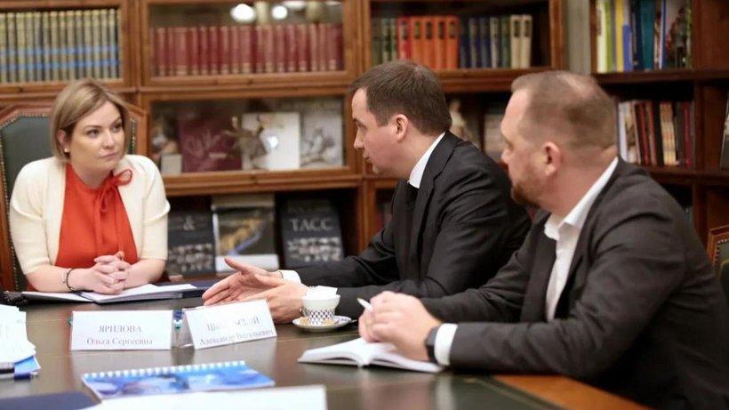 Александр Цыбульский обсудил вопросы развития культуры с главой Минкульта РФ Ольгой Любимовой