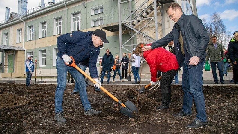 Жители Архангельской области присоединились к акции «Сад Памяти»