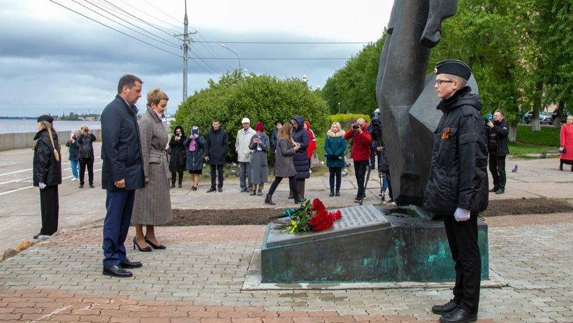 В Поморье почтили память Северных юнг