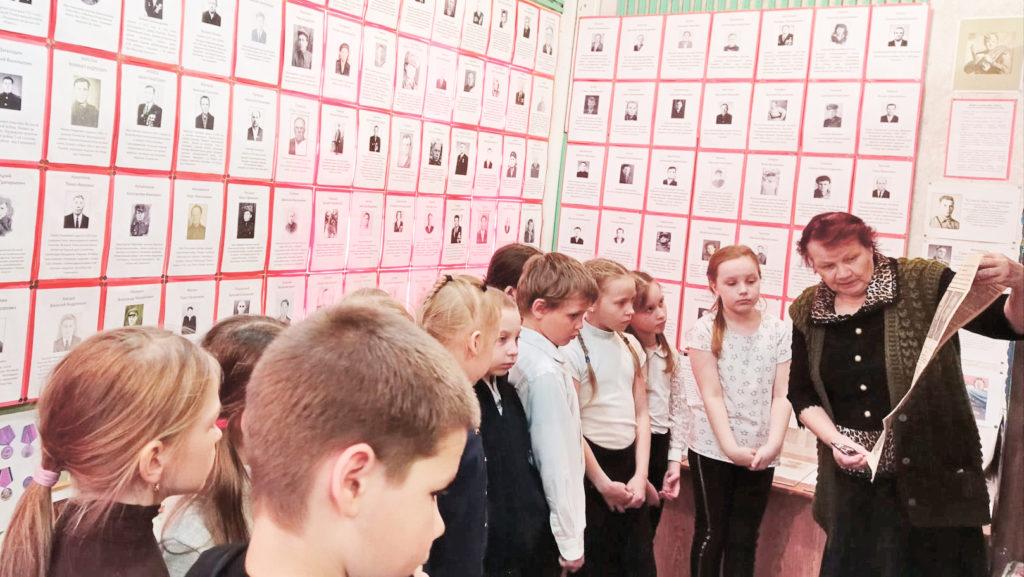 Ученики Рочегодской школы  —  частые гости поселкового музея