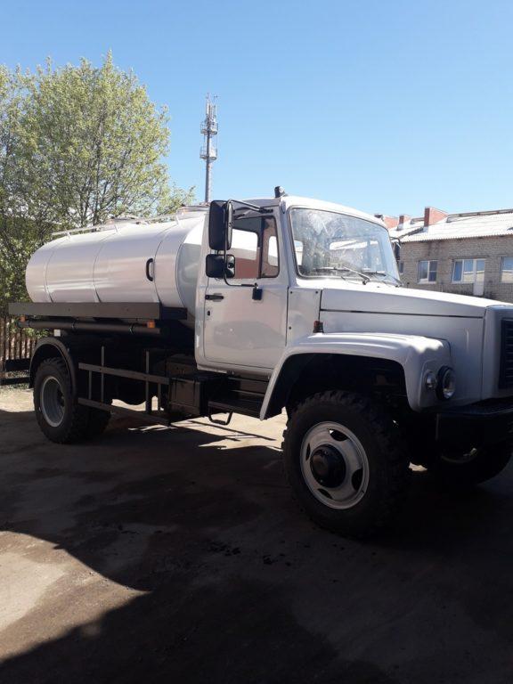 Новая машина для подвоза воды поступила в МО «Березниковское»