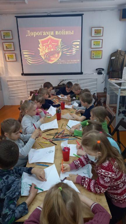 О нашем районе в годы Великой Отечественной войны рассказывают детям в музее