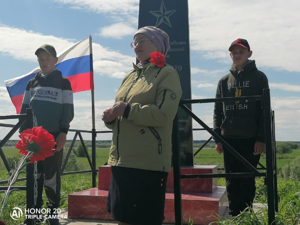 В  Виноградовском районе обновлен памятник героям Гражданской войны