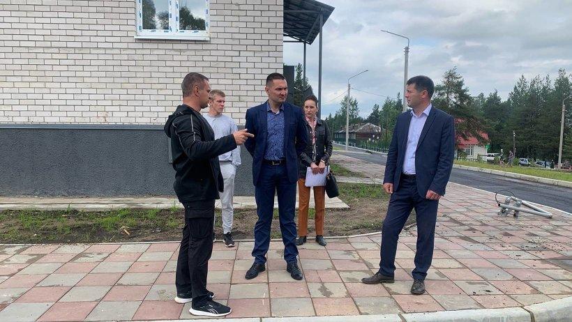 В посёлке Березник завершается строительство домов для переселенцев