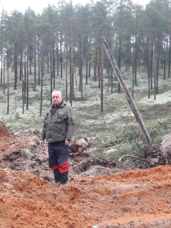 За заслуги в области лесной промышленности