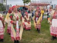 Коллектив «Здарье» Виноградовского района на фестивале в Санкт-Петербурге