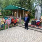 22 июня в День памяти и скорби в парке Победы Виноградовского района пршел митинг