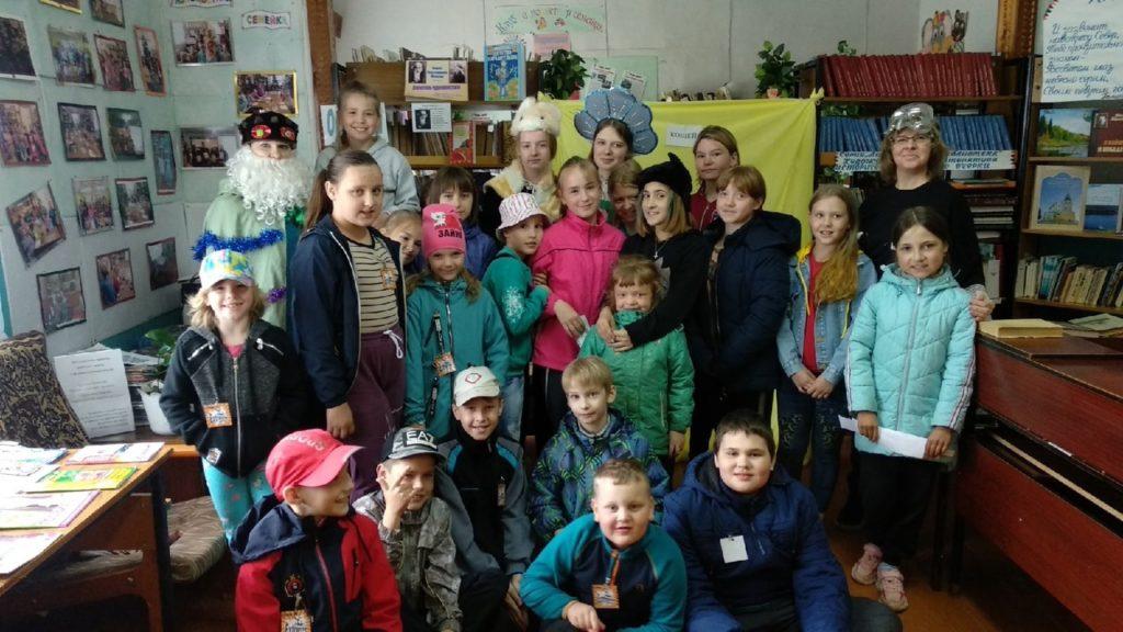 Ко Дню защиты детей в Рочегодской библиотеке прошла квест-игра «Сказочное Лукоморье»