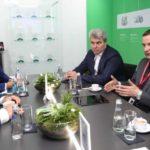 Александр Цыбульский обсудил на площадке ПМЭФ вопросы реализации нацпроекта «Здравоохранение»