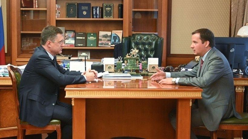 Александр Цыбульский и Александр Новак обсудили вопросы развития энергетической сферы Поморья