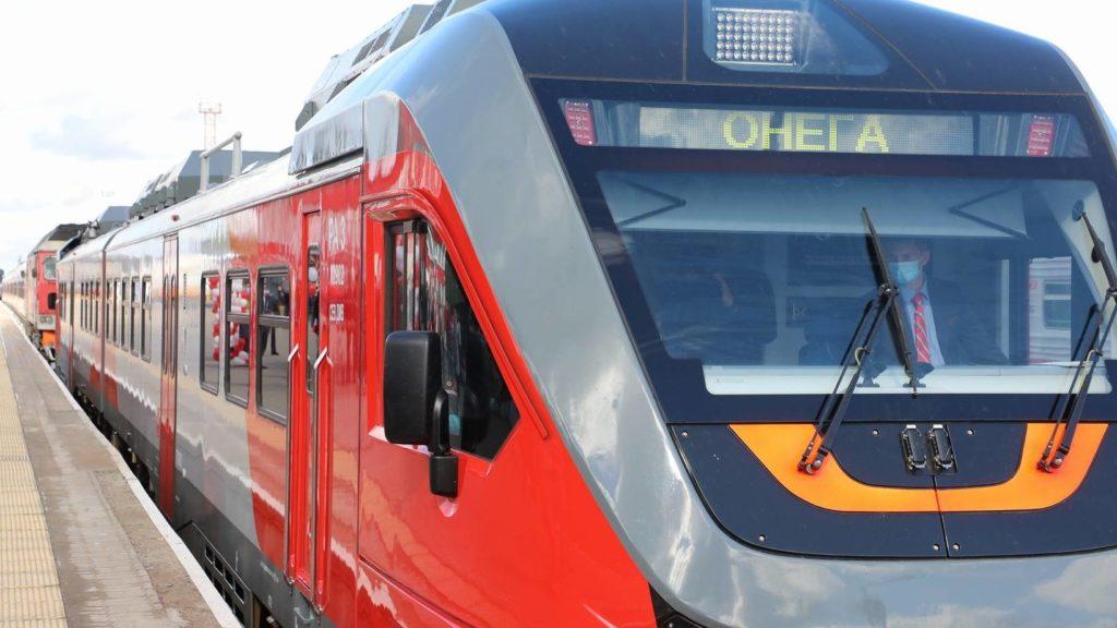 В Поморье обновляется парк пригородного железнодорожного транспорта