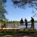 Архангельские студенты сделали смотровую площадку для Сийского монастыря