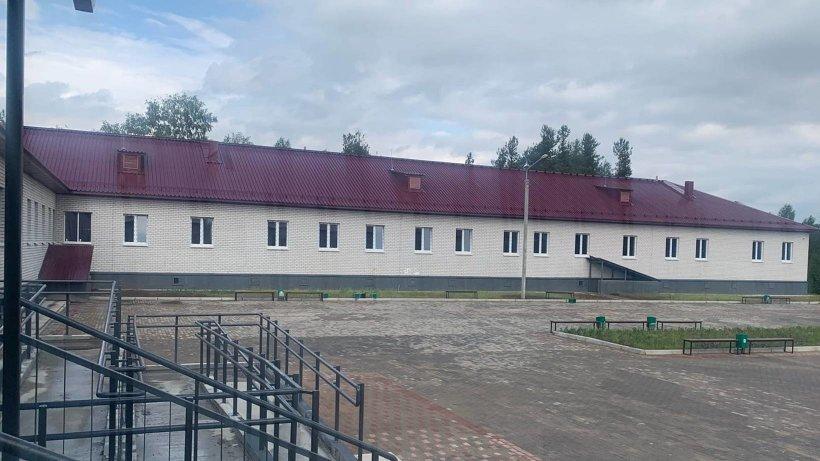 В новом корпусе Виноградовской ЦРБ идут отделочные работы