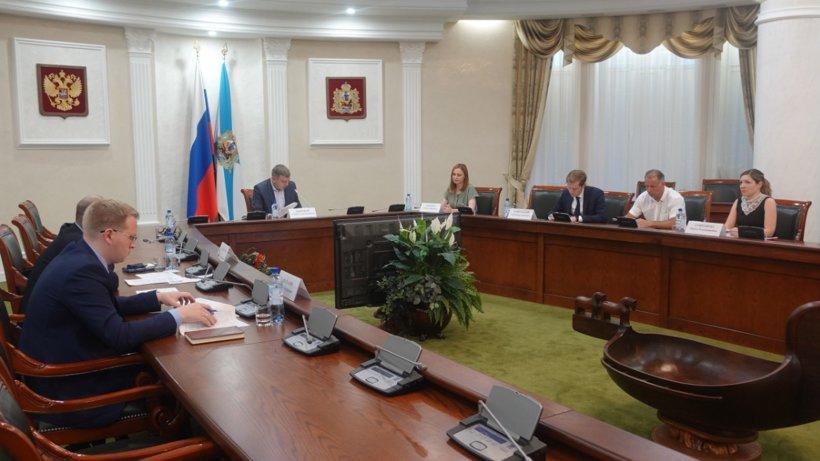 В правительстве региона состоялась встреча с общественными представителями губернатора Архангельской области