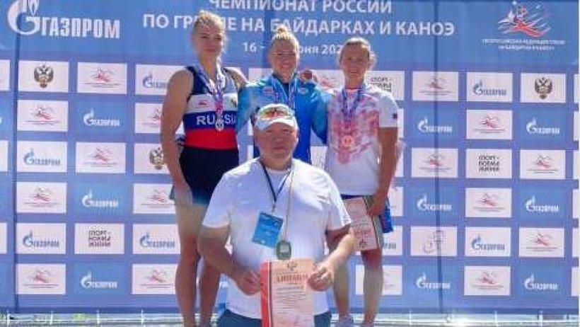 Александр Цыбульский поздравил Наталью Подольскую с золотом на Чемпионате России
