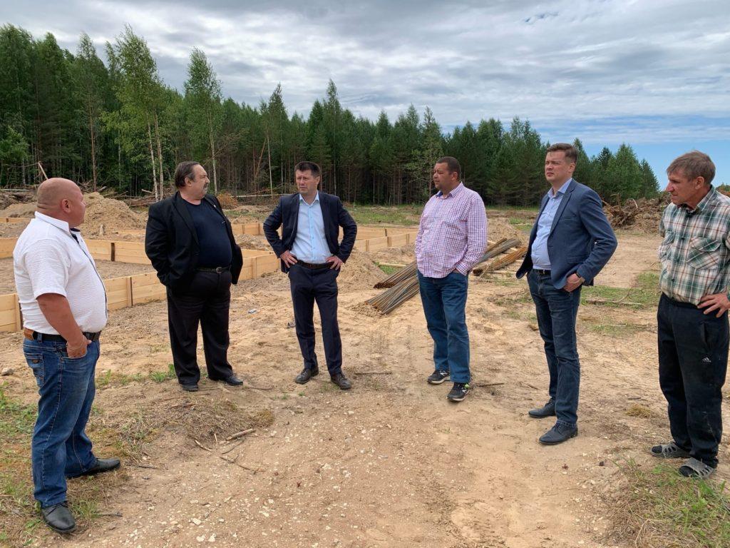 В администрации Виноградовского района состоялось заседание рабочей группы по строительству водопровода