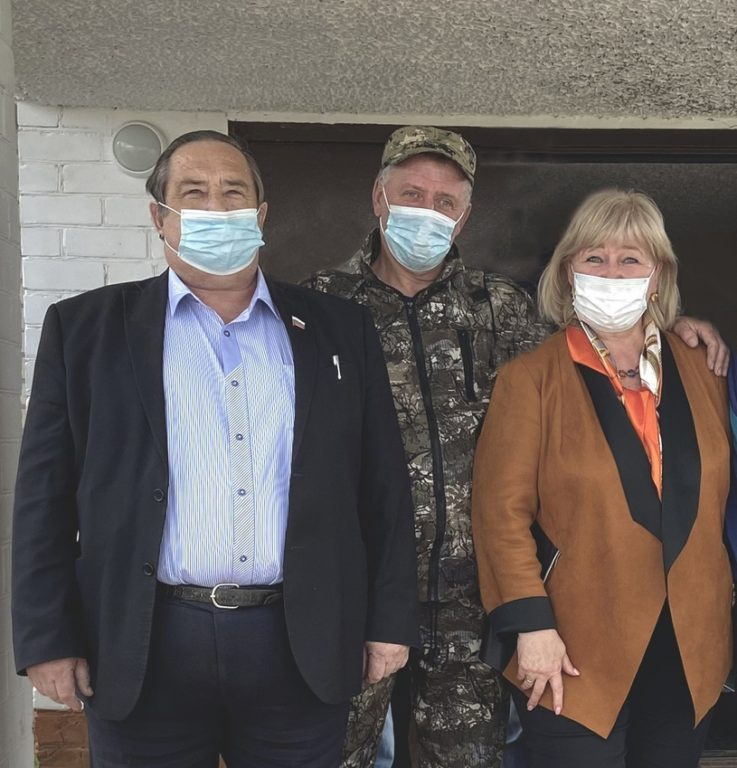 С рабочим визитом в Виноградовском районе депутат Госдумы Елена Вторыгина