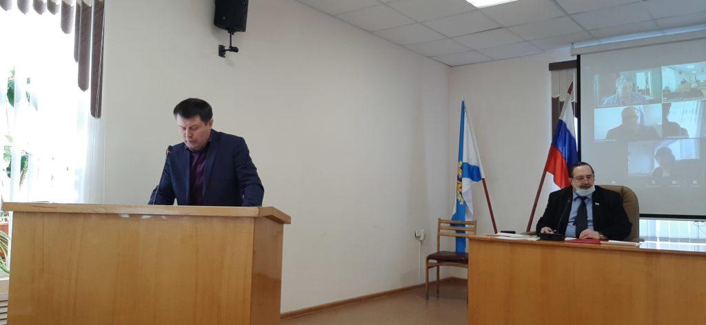 В муниципальном Собрании Виноградовского района