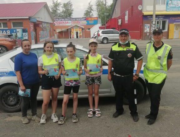 В Виноградовском районе прошел рейд по информированию населения о вызове экстренных служб через единый номер