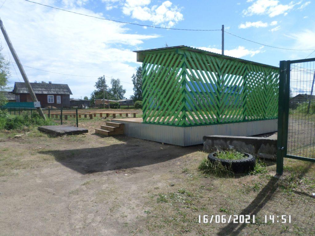 Новый культурно-развлекательный комплекс появился в МО «Усть-Ваеньгское» Виноградовского района