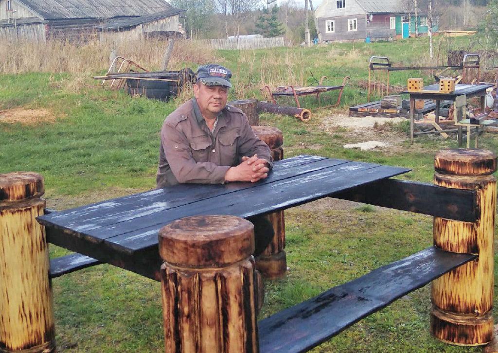 Умелые руки виноградовского мастера Сергея Сивкова творят чудеса