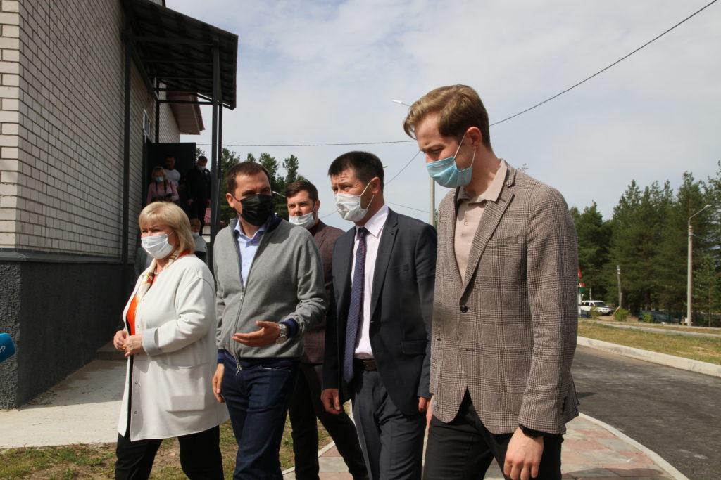 Александр Цыбульский находится в рабочей поездке по Виноградовскому району
