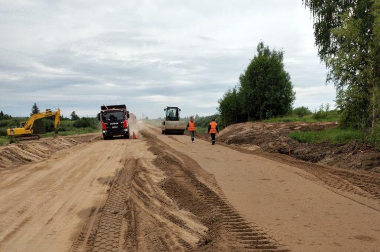 Усть-Ваеньга — Осиново — Фалюки: работы близки к завершению
