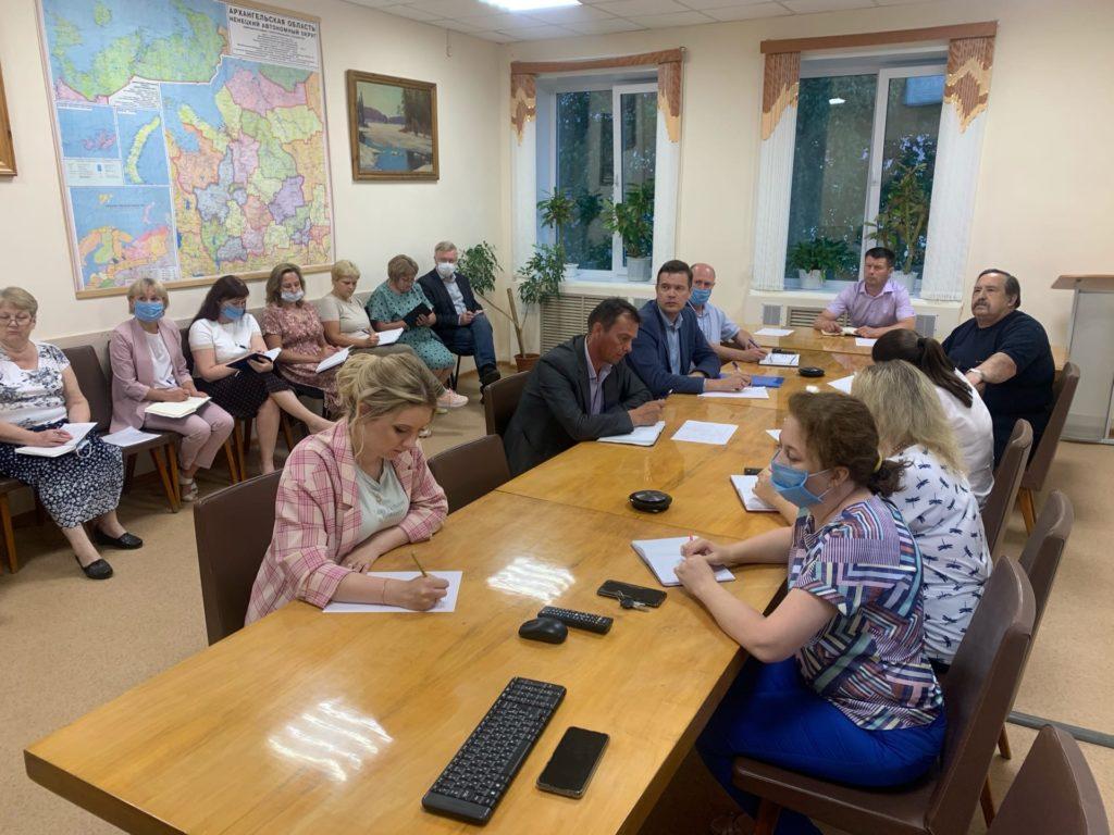 В администрации Виноградовского района состоялось расширенное совещание по вопросу преобразования в муниципальный округ