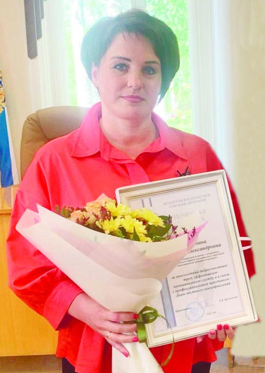 Председатель Виноградовской ТИК Ирина Антипина посвятила себя любимому делу