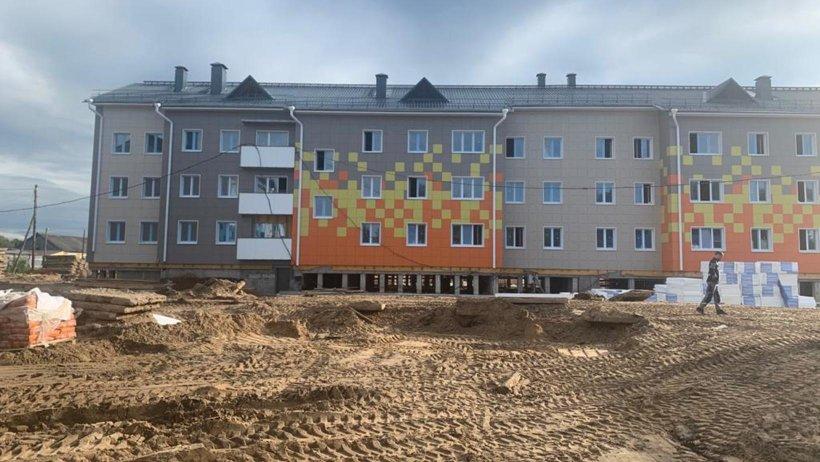 Дома для переселенцев из аварийного жилья в Березнике возводятся в соответствии с графиком