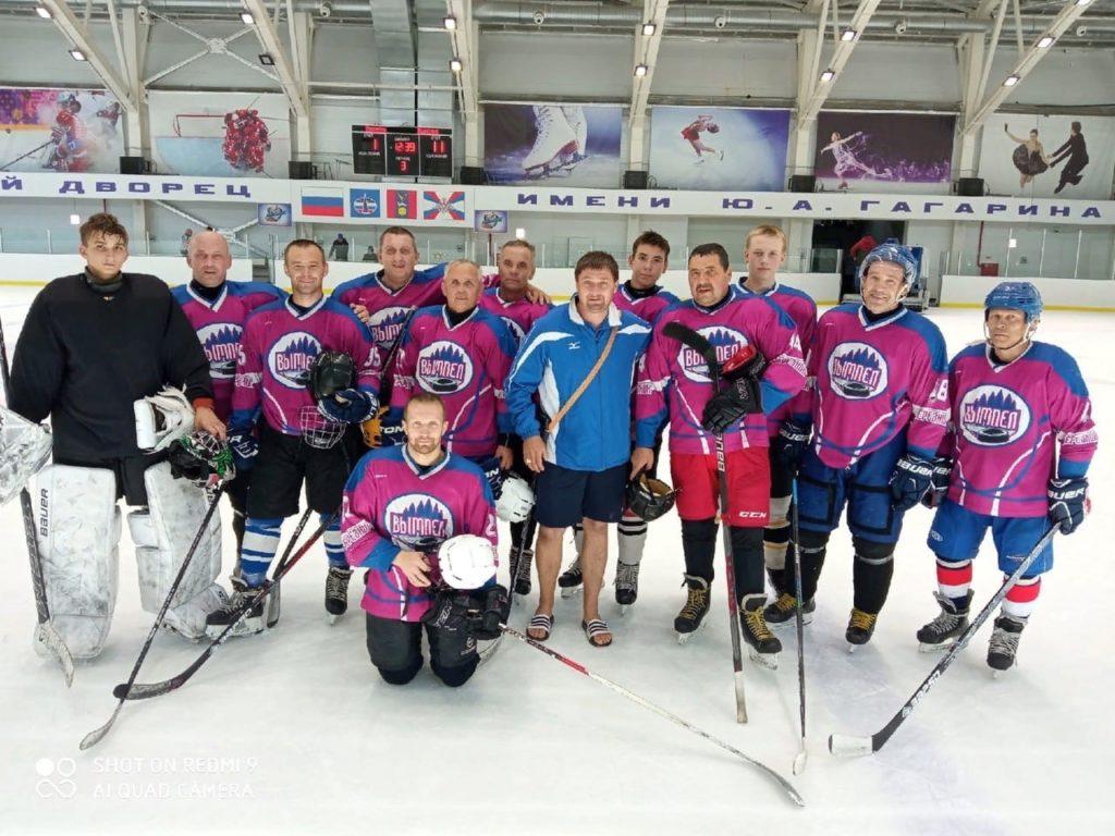 Виноградовская команда «Вымпел» — четвертая в соревнованиях по хоккею с шайбой