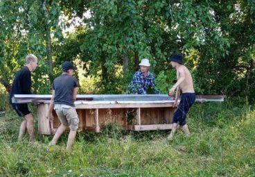 МО «Заостровское»:  подготовка к празднику  на финишной прямой