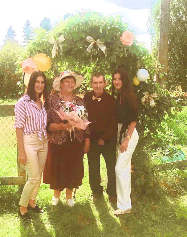 Супруги Заклецкие из Виноградовского района награждены медалью «За любовь и верность»