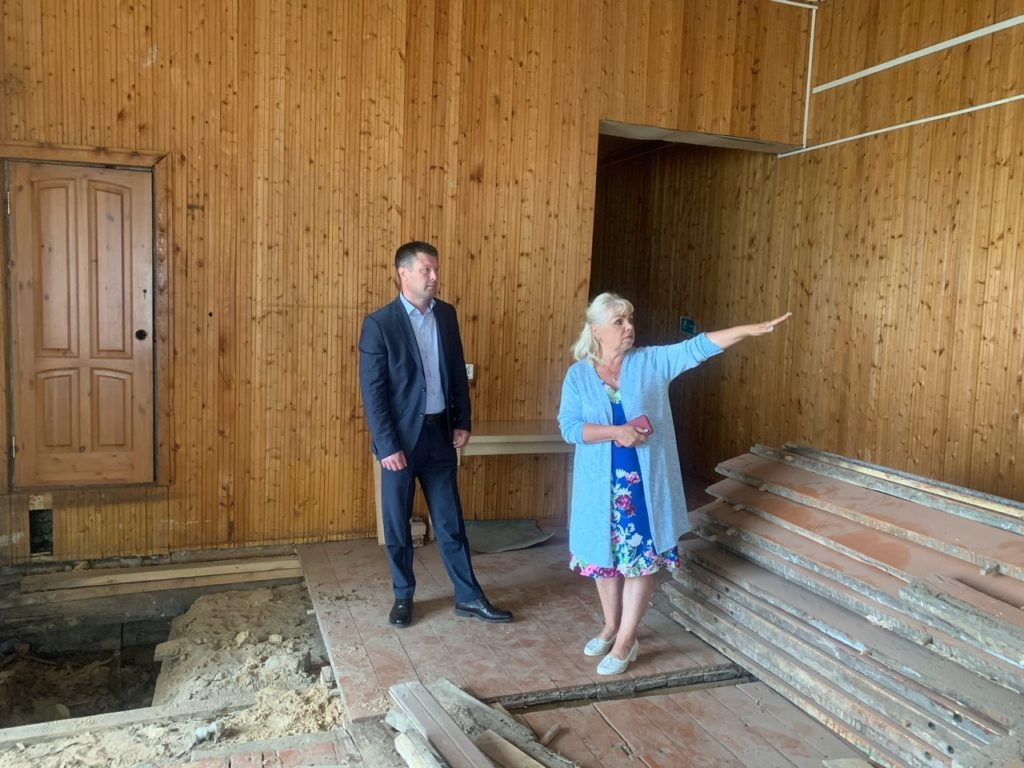 В поселке Шидрово Виноградовского района долгожданный ремонт клуба