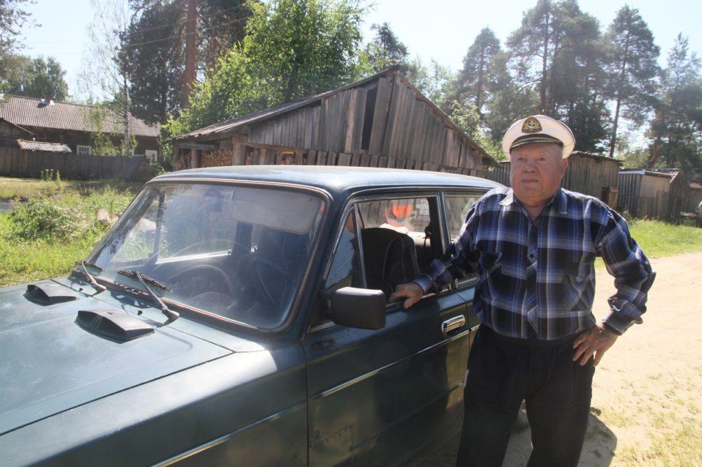 Более полувека за баранкой Аркадий Федорович Воронцов из Шидрово