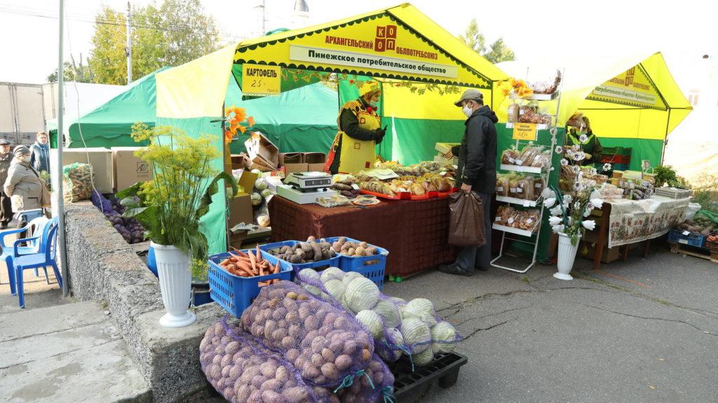 Бесплатных торговых мест на Маргаритинке для товаропроизводителей Поморья станет больше