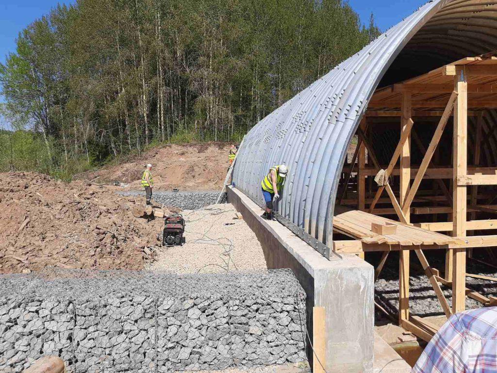 Работы на Нижней Тярже планируется завершить на два месяца раньше