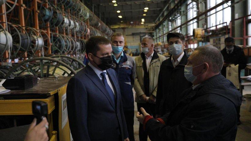 Александр Цыбульский оценил производственные мощности СПО «Арктика»