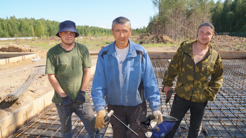 Сегодня — День строителя! В преддверии праздника мы побывали на месте строительства станции водоочистки в Березнике