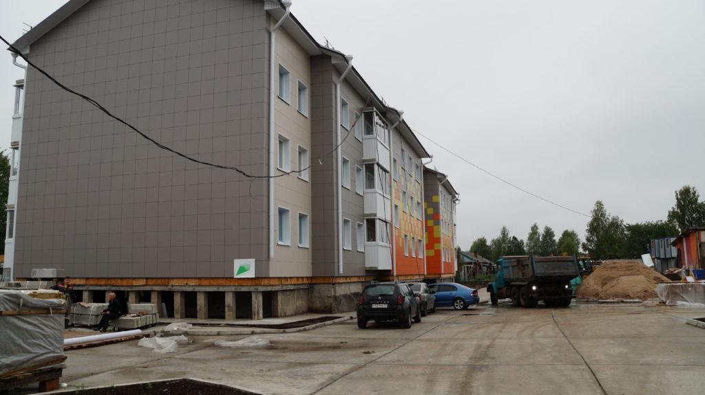 Этим летом в Березнике на трех важных для Виноградовского района объектах ведутся большие строительные работы