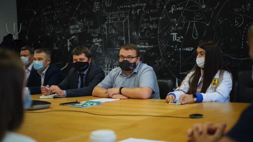 Состоялось первое заседание молодежного избирательного штаба Архангельской области
