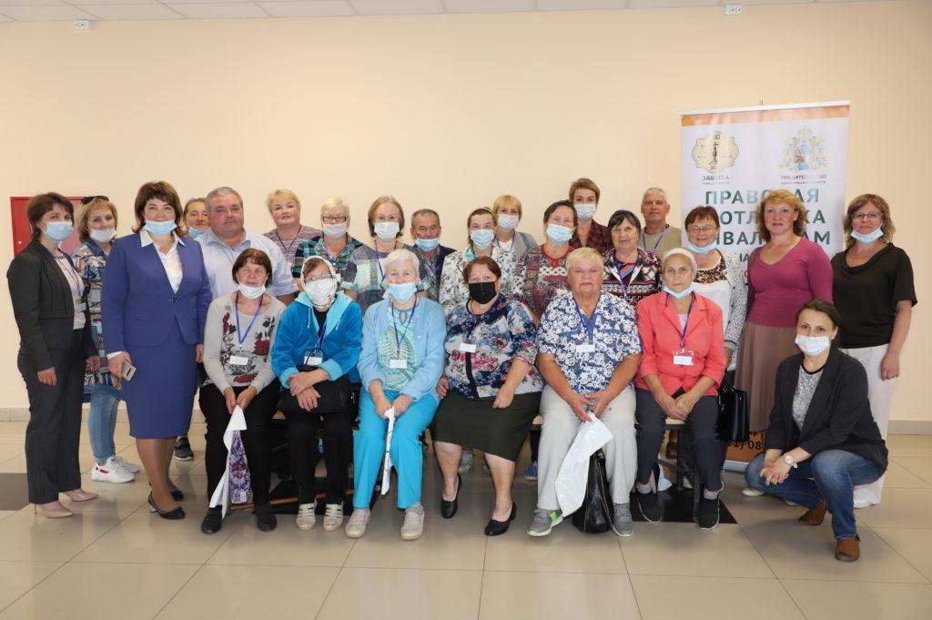В Виноградовском районе реализуется проект правовой помощи инвалидам