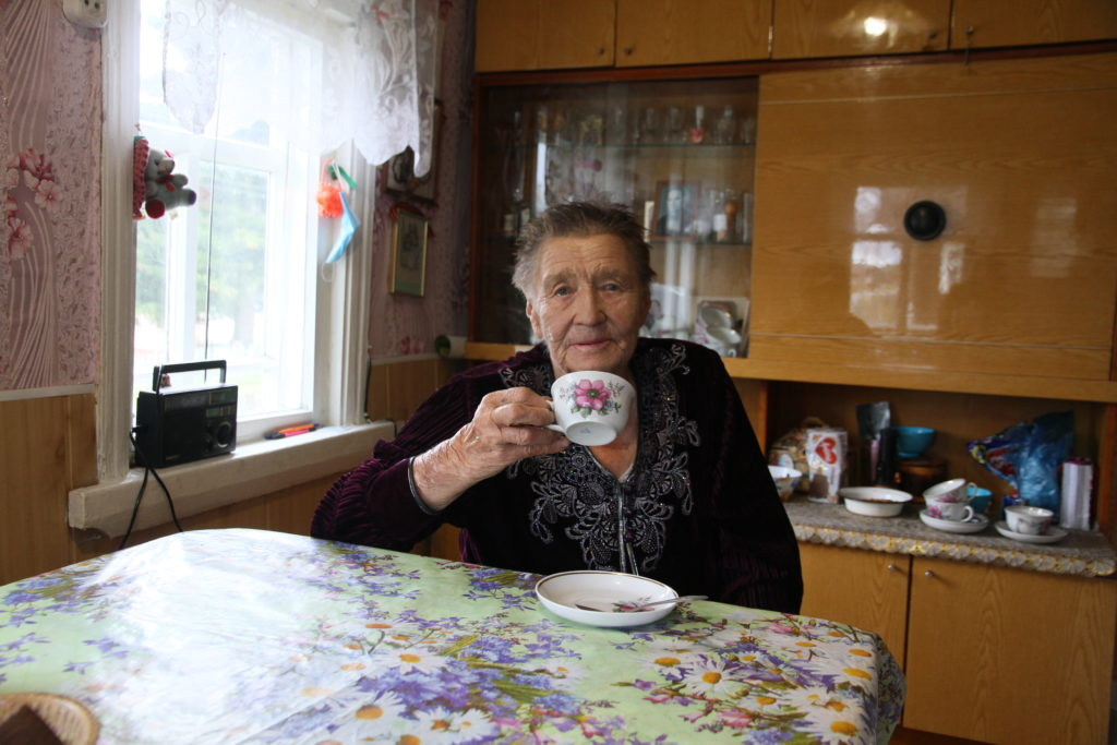Девиз ветерана труда из Чамово Нилы Игнатьевны Хлопиной: «Труд – основа долгих лет»