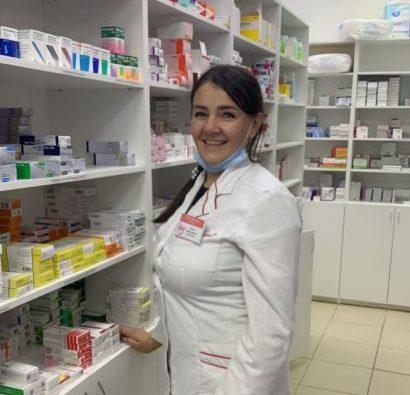 Доброе слово и в аптеках лечит, считает фармацевт Юлия Прилуцкая