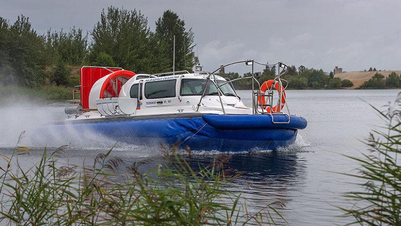 Шенкурск получил новое спасательное судно на воздушной подушке