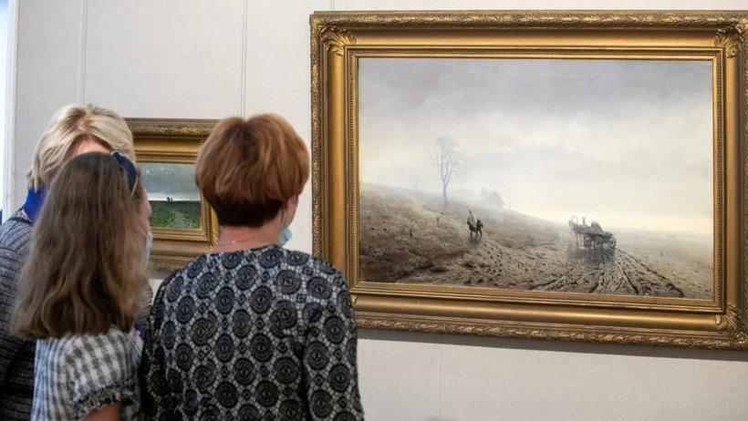 В Архангельске открылась выставка картин выдающегося русского художника Архипа Куинджи
