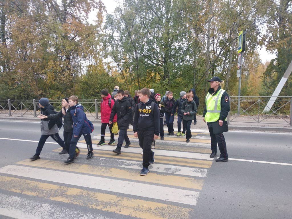 «Дорожные ловушки» пятиклассникам Березниковской школы не страшны!
