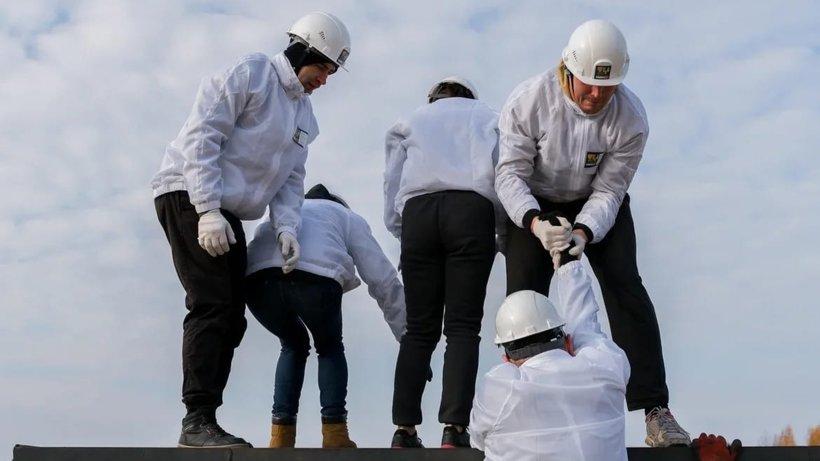 В Архангельске впервые прошли соревнования «Остров героев»