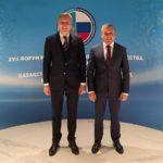 Вице-губернатор Поморья принимает участие в Форуме межрегионального сотрудничества России и Казахстана